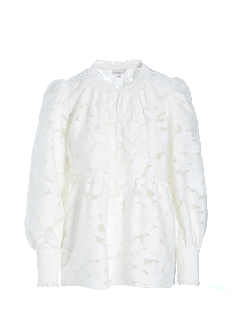 DEA KUDIBAL Beatrice Tunic - White  main image