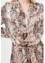 Aura Silk Dress - Snake Rose additional image