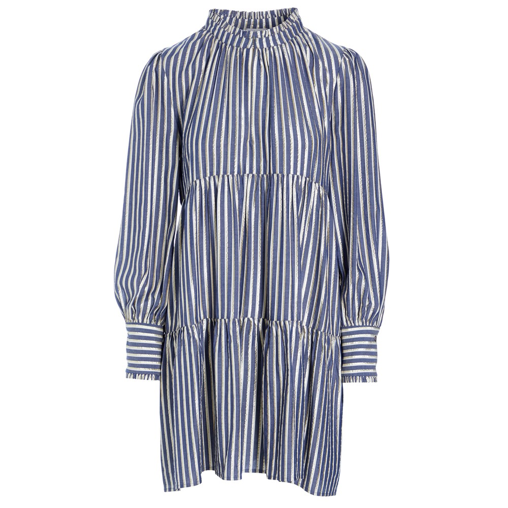 Kira Ns Dress - Gold Stripe