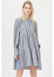 DEA KUDIBAL Kira Ns Dress - Gold Stripe