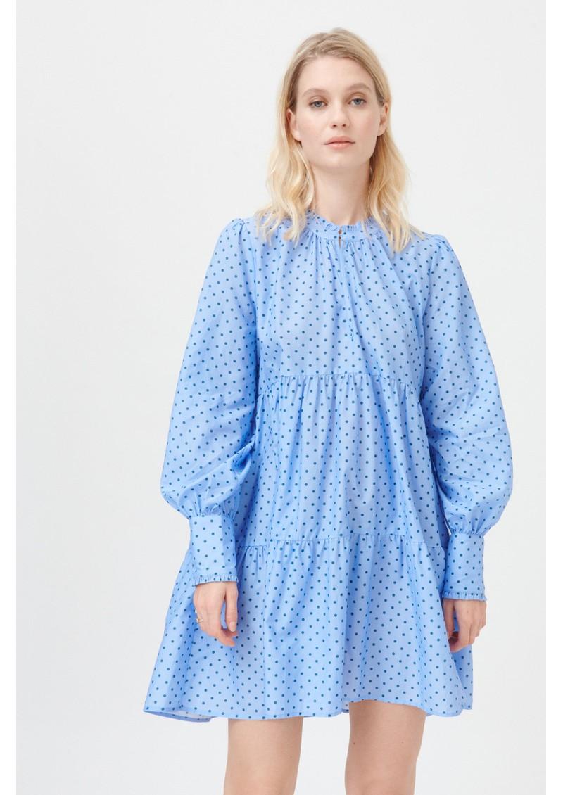 DEA KUDIBAL Kira Ns Dress - Dotty Blue main image