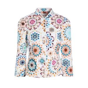 Rosy Printed Jacket - Kaleidoscope