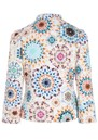 Rosy Printed Jacket - Kaleidoscope additional image