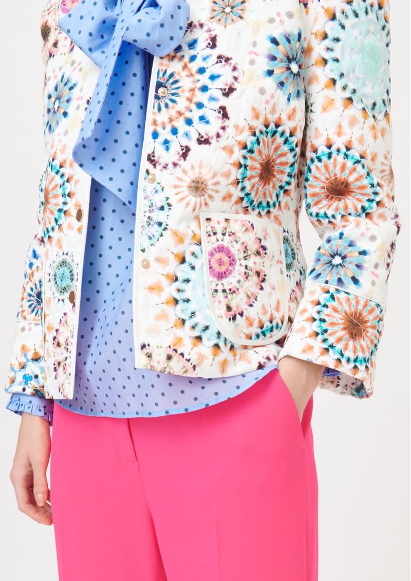 DEA KUDIBAL Rosy Printed Jacket - Kaleidoscope main image