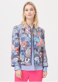 DEA KUDIBAL Rosy Printed Jacket - Native Blue
