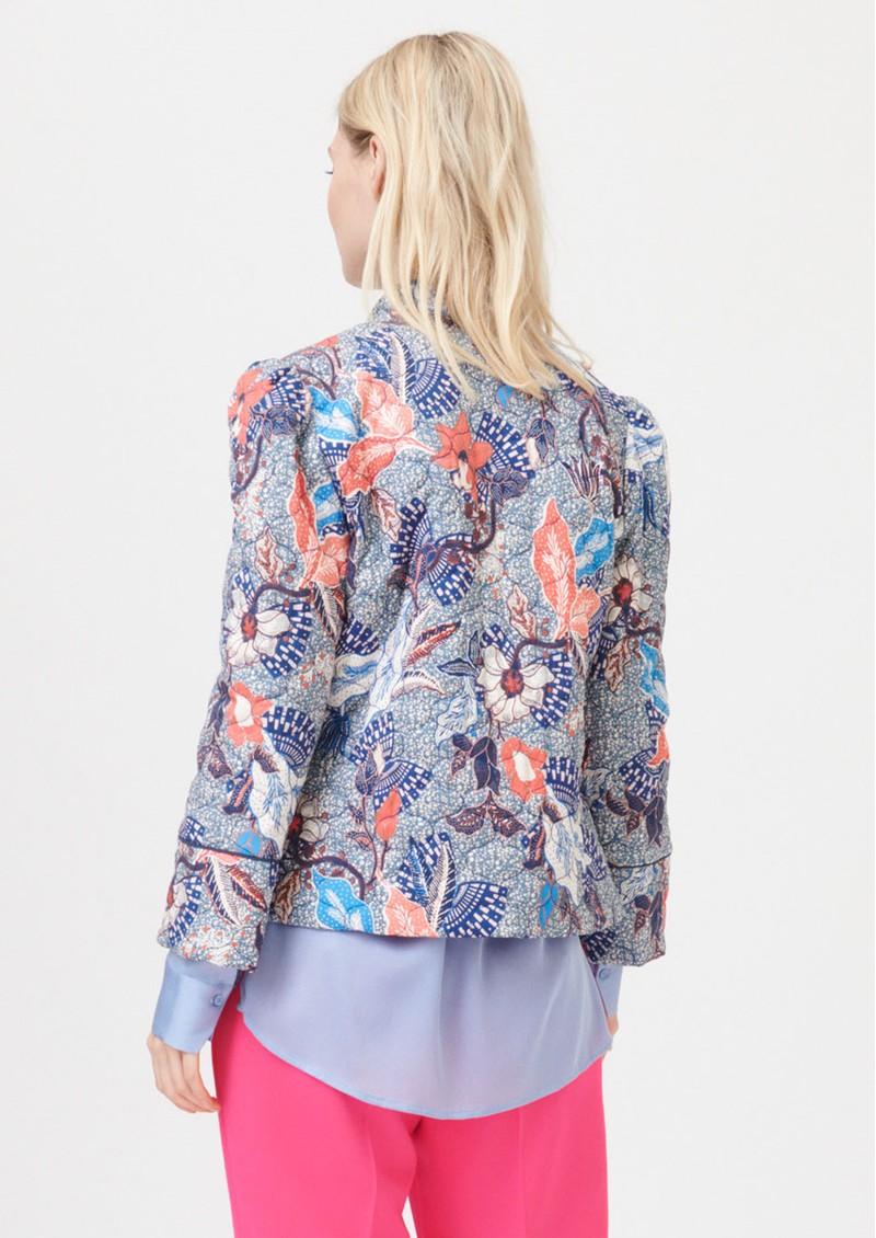 DEA KUDIBAL Rosy Printed Jacket - Native Blue main image