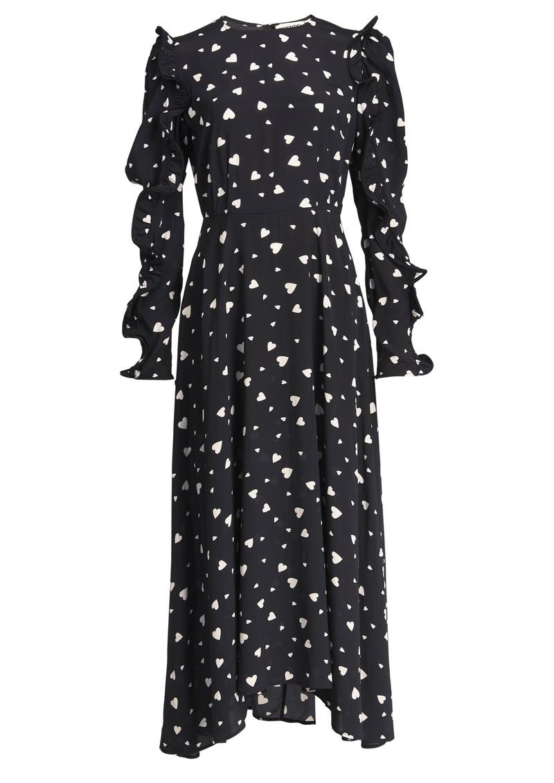 ESSENTIEL ANTWERP Zangle Heart Printed Maxi Dress - Combo 1 Black main image
