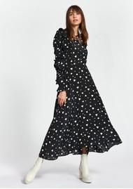 ESSENTIEL ANTWERP Zangle Heart Printed Maxi Dress - Combo 1 Black