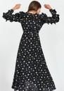 Zangle Heart Printed Maxi Dress - Combo 1 Black additional image