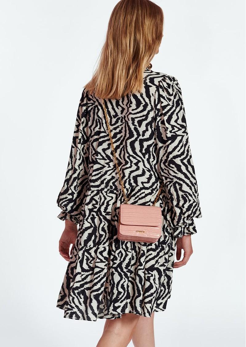 ESSENTIEL ANTWERP Zoku Zebra Printed Dress - Combo 1 Black  main image