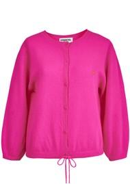 ESSENTIEL ANTWERP Zetting Cardigan - Super Pink