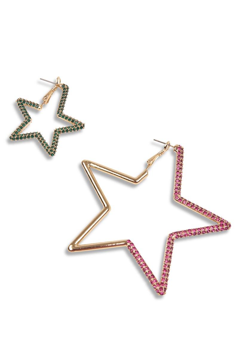ESSENTIEL ANTWERP Zortago Star Earrings - Combo1 Pink main image