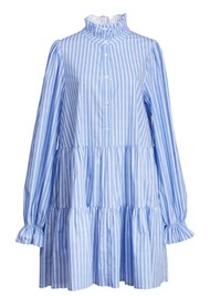 ESSENTIEL ANTWERP Zinga Stripe Shirt Dress - Halogen