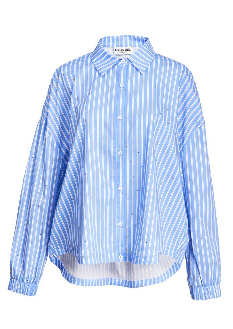 ESSENTIEL ANTWERP Zaboon Oversized Stripe Shirt - Halogen main image