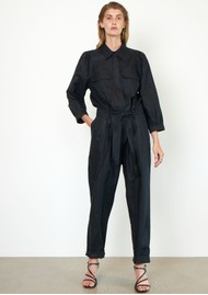 SECOND FEMALE Selene Jumpsuit - Black
