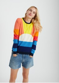 JUMPER 1234 Sunshine Crew Cashmere Jumper - Multi