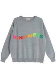 JUMPER 1234 Kindness Cashmere Sweater - Lava