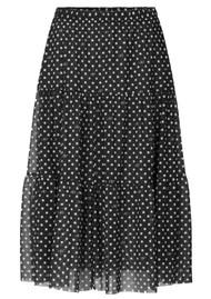 BAUM UND PFERDGARTEN Lucile Skirt - Black Dot
