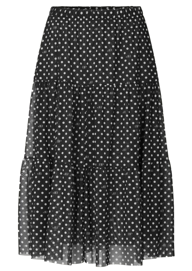 BAUM UND PFERDGARTEN Lucile Skirt - Black Dot main image