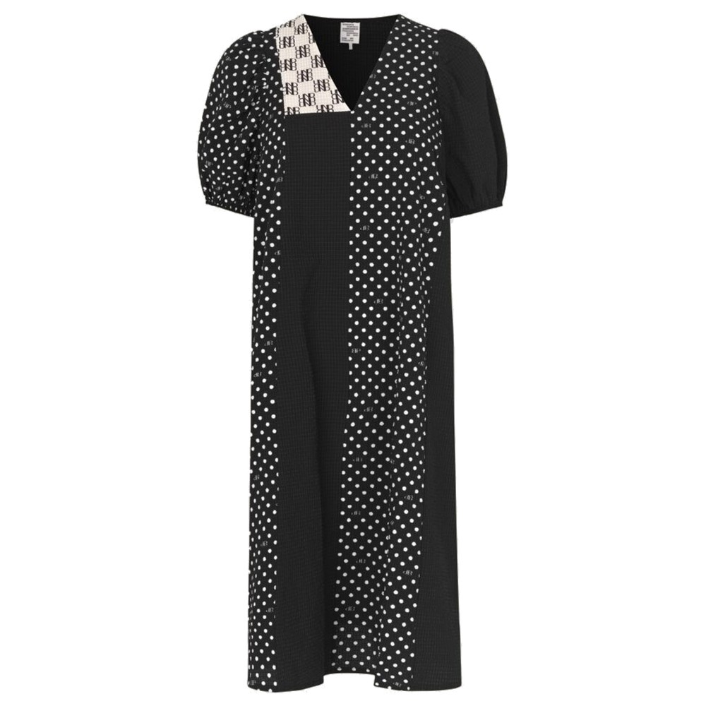 Azalia Dress - Black Dot