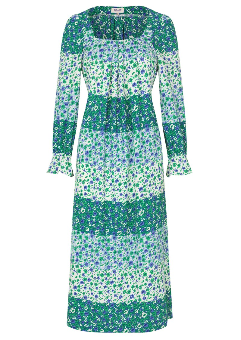 BAUM UND PFERDGARTEN Asayo Dress - Green Ditzy main image