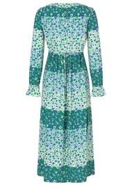 BAUM UND PFERDGARTEN Asayo Dress - Green Ditzy