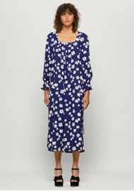 BAUM UND PFERDGARTEN Asayo Dress - Blue Floral