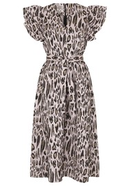BAUM UND PFERDGARTEN Addison Dress - Primrose Leopard