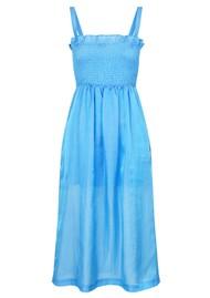 BAUM UND PFERDGARTEN Aherra Dress - Boy Blue