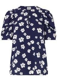 BAUM UND PFERDGARTEN Mckenzie Top - Blue Floral