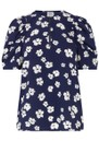Mckenzie Top - Blue Floral additional image