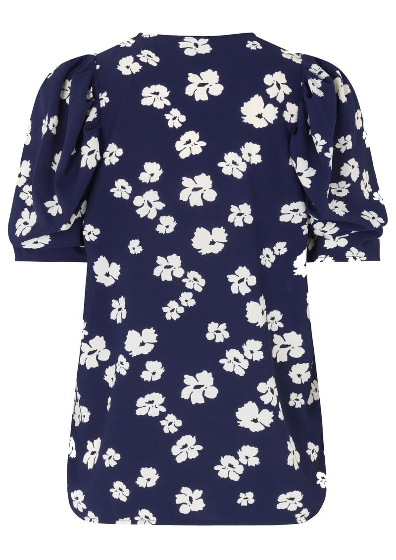 BAUM UND PFERDGARTEN Mckenzie Top - Blue Floral main image