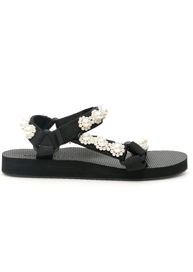 ARIZONA LOVE Trekky Pearl Sandals - Classic Pearl  main image
