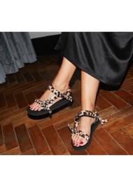 ARIZONA LOVE Trekky Sandals - Leopard