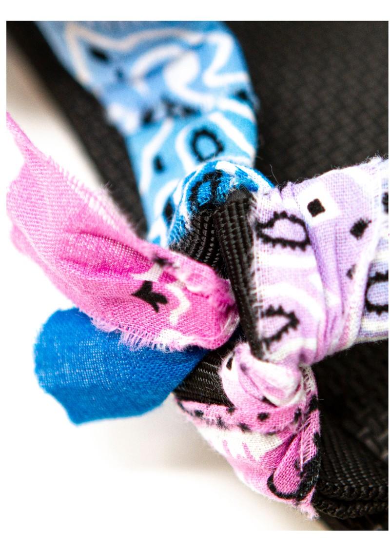 ARIZONA LOVE Trekky Sandals - Tie-Dye Blue & Pink main image