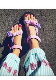 ARIZONA LOVE Trekky Sandals - Bandana Pink Mix
