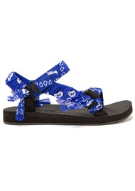 ARIZONA LOVE Trekky Sandals - Bandana Cerulean