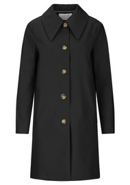 HARRIS WHARF Mac Coat - Black