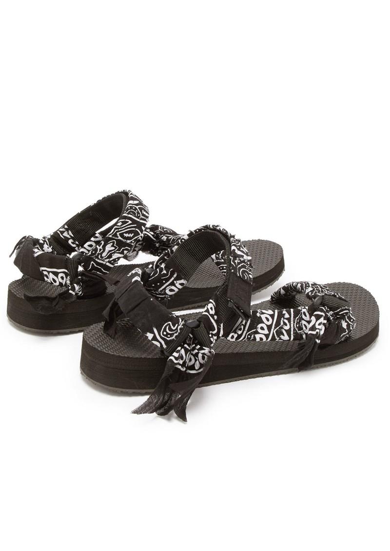 ARIZONA LOVE Trekky Sandals - Bandana Black main image