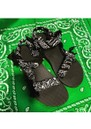 Trekky Sandals - Bandana Black additional image