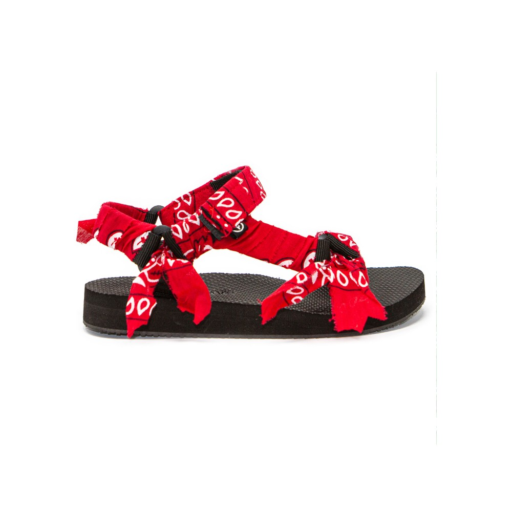 Trekky Sandals - Bandana Red