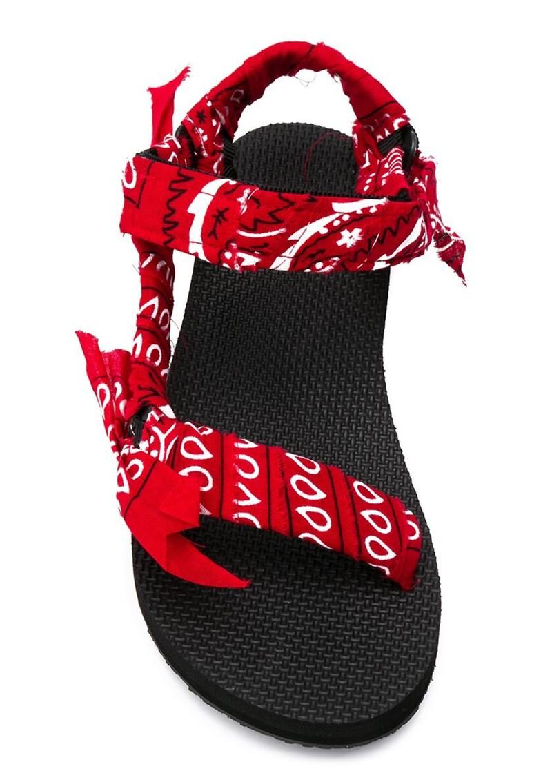 ARIZONA LOVE Trekky Sandals - Bandana Red main image