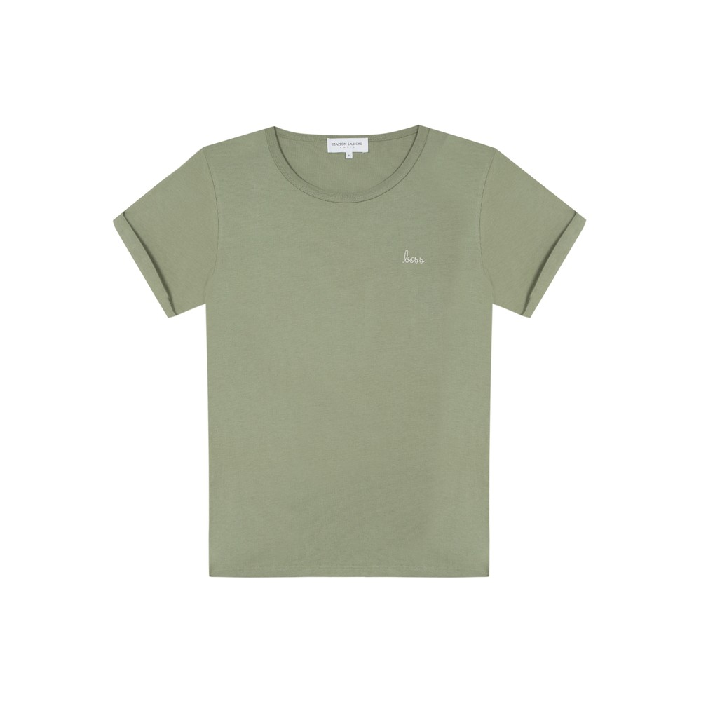 Boss Cotton Classic Tee - Olive Green