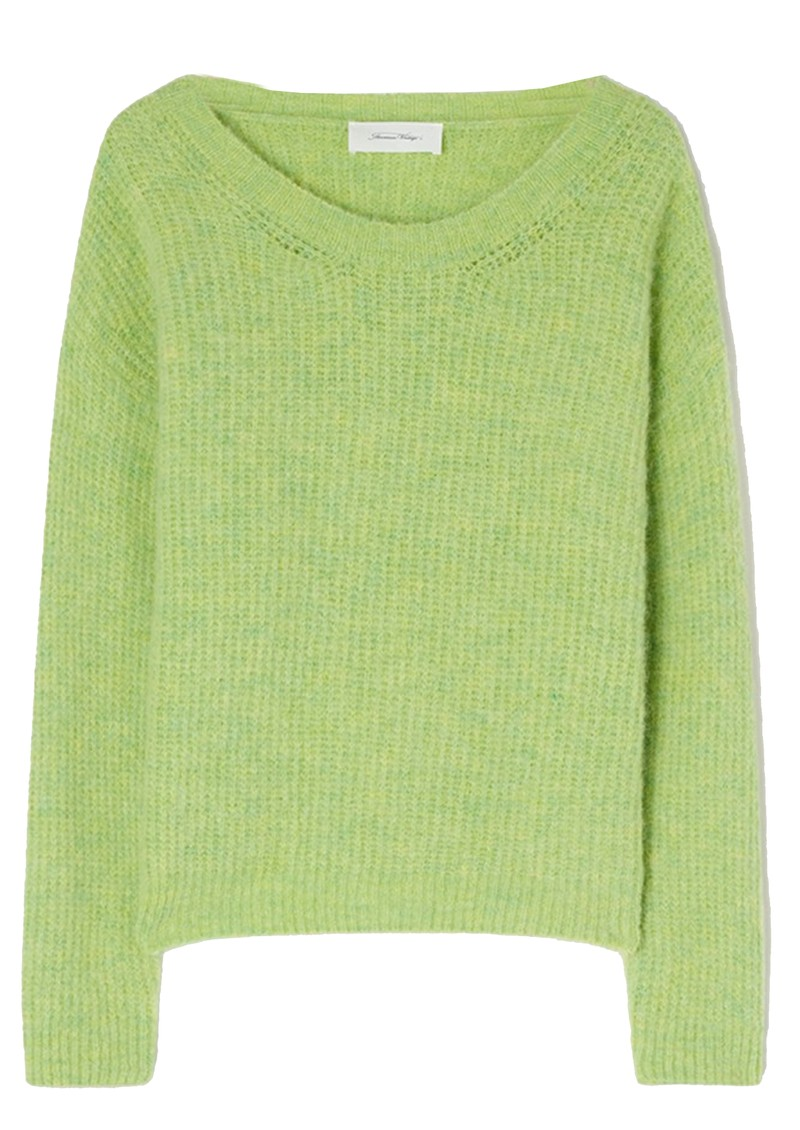 East Knitted Round Neck Jumper - Chrysalis Melange main image