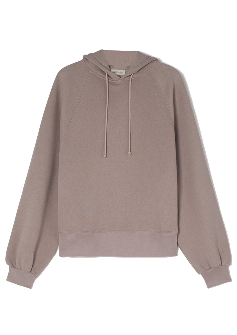 American Vintage Ikatown Oversized Hoodie - Taupe main image
