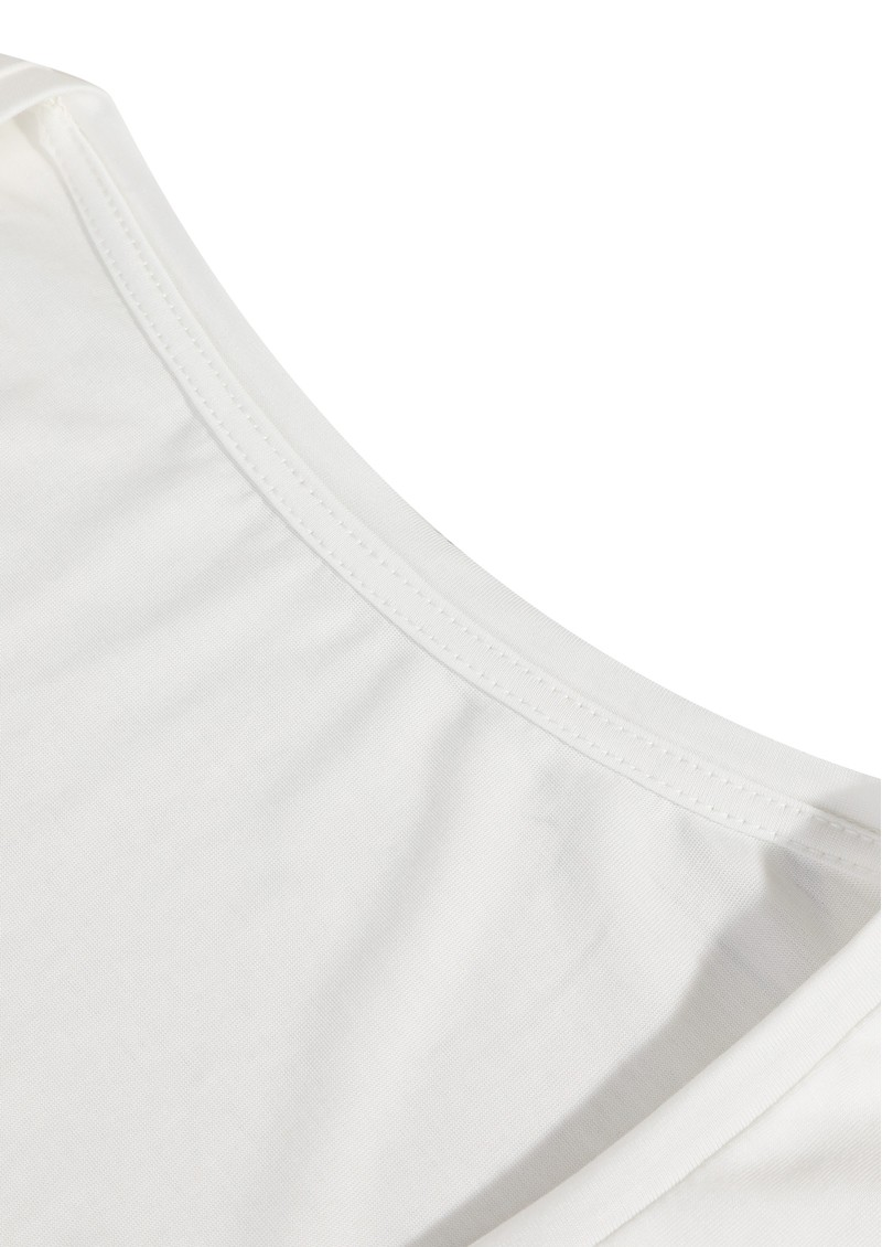 MAISON LABICHE Flow Cheers Lyocell Tee - Off White main image