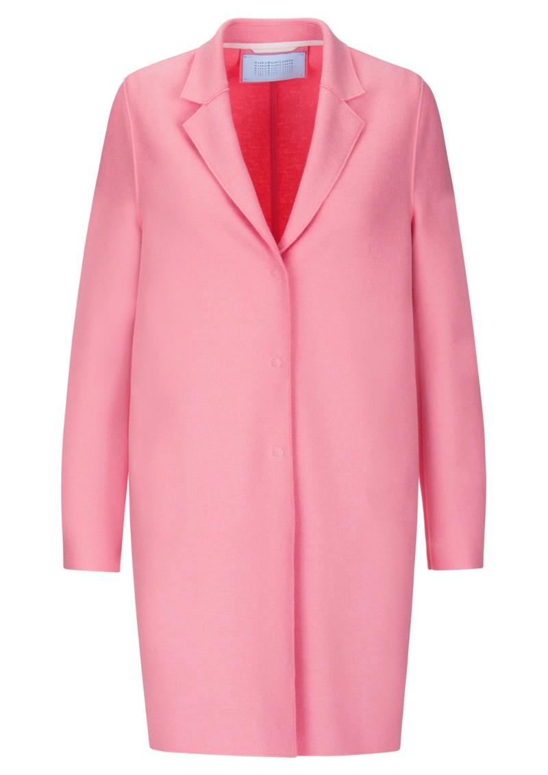HARRIS WHARF Cocoon Coat - Pink main image
