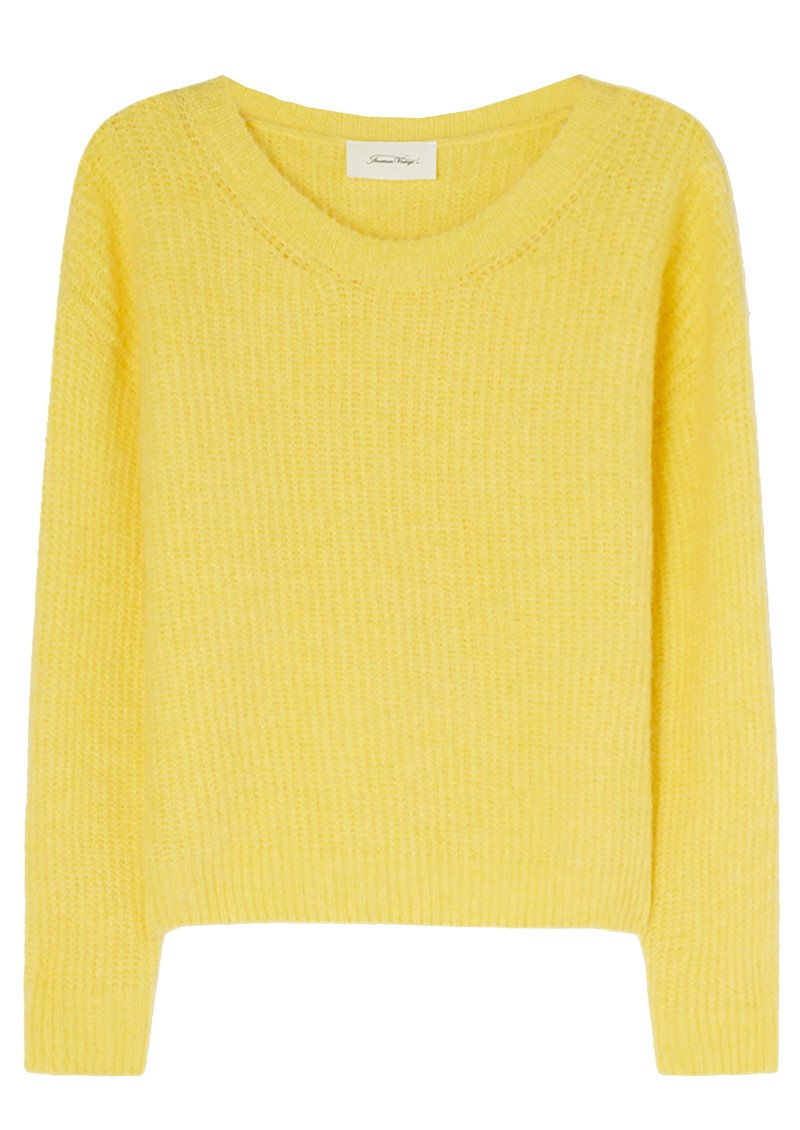 East Knitted Round Neck Jumper - Bergamot Melange main image