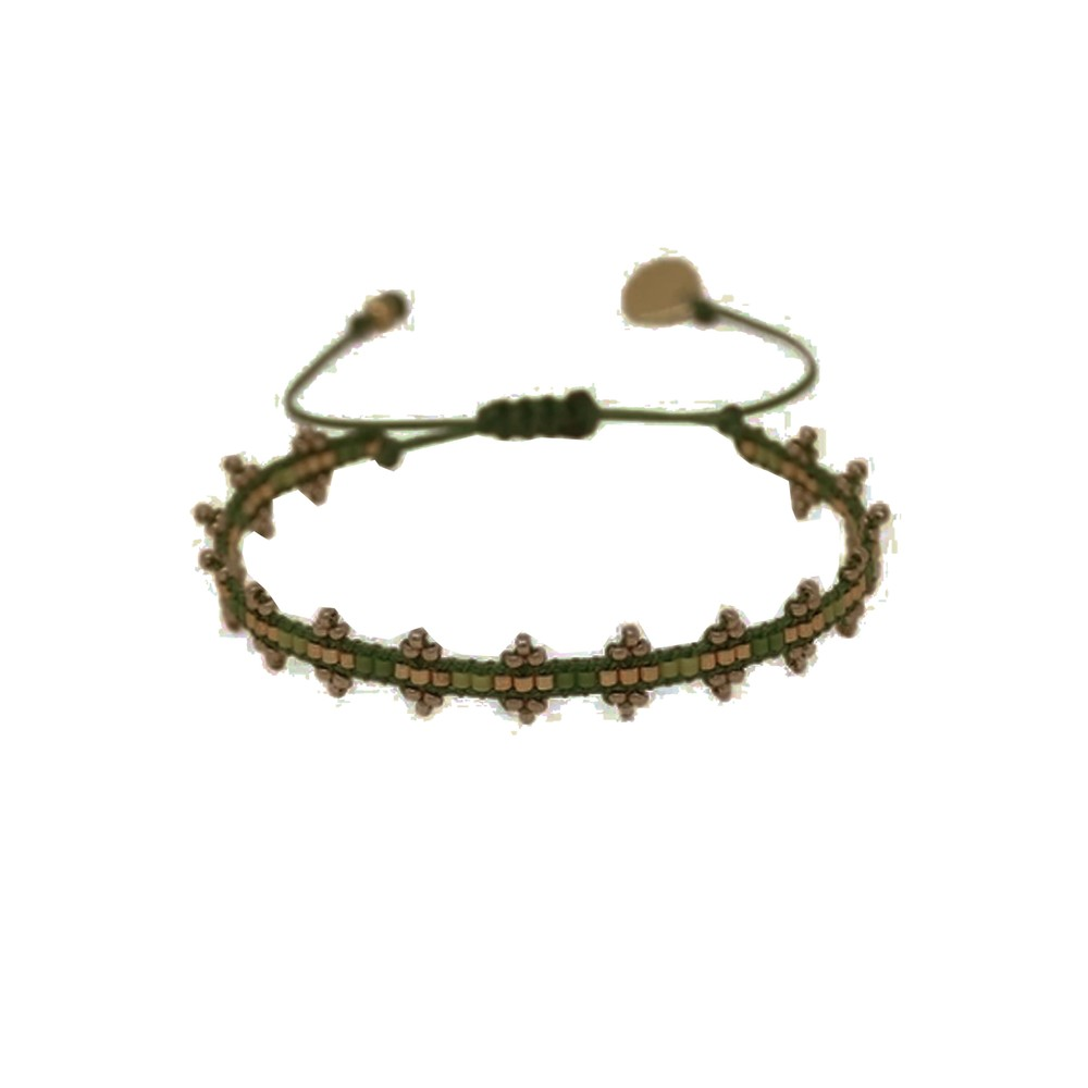 Shanty Beaded Bracelet - Green