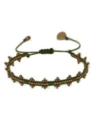 MISHKY Shanty Beaded Bracelet - Green
